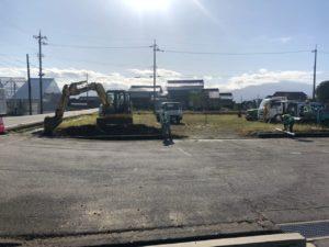 新たに駐車場を増設しました!